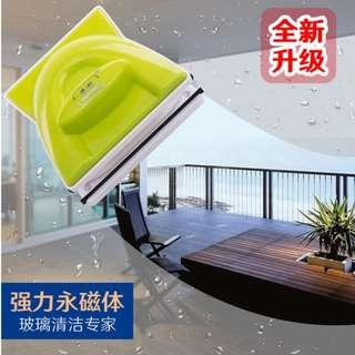 Magnetic Double Faced Window Glass Cleaner Safe Cleaning Tool Clean Wiper