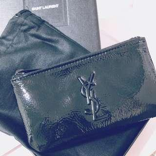 YSL PATENT KEYPOUCH