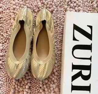 Gold Foldable flats
