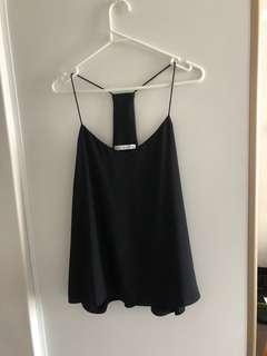 Camilla and Marc Black top (Size 8)