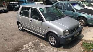Perodua kancil ez 850 tahun 2001
