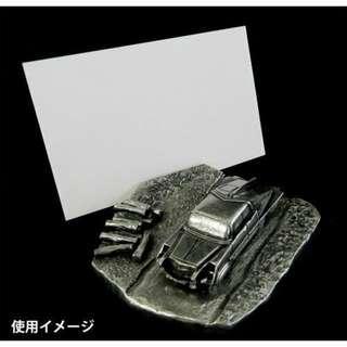 日本 Ultraman Shop M78 限定 七星俠 七星車 POINTER 金屬咭片座 Metal Stationery 全新