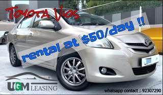 Toyota VIOS CHEAP RENTAL