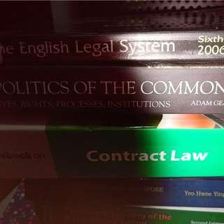 Law, common law, English legal system, contract
