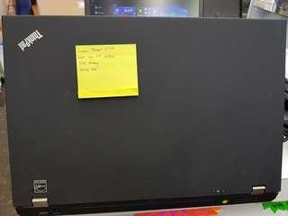 """ThinkPad W510 Core i7 - 8GB RAM - 500GB HDD - 15"""" SCREEN - QUADRO FX880M - WIN 10 PRO"""