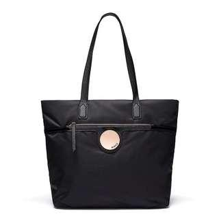 Mimco Waver Tote Black and Rose Gold