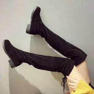Boots winter overknee sepaha selutut import