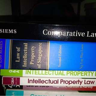 Law, intellectual property, comparative law