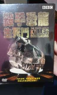 🚚 BBC 殺手恐龍生死鬥電影DVD CD 光碟  THE TRUTH ABOUT KILLER DINOSAURS