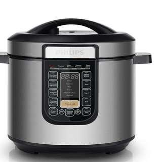 BNIB **Philips HD2137 Viva Collection All-In-One Pressure Cooker 6 Litres 1000W