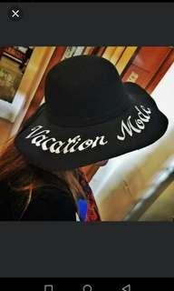 Customized Statement Hat