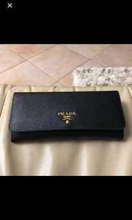 Prelov Authentic Prada wallet. Used once only. Retail $1000 plus