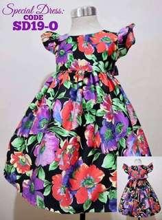 Girls Dress SD19-O