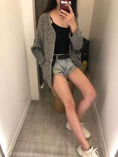 全新轉賣 韓貨店購入 毛呢小香風外套