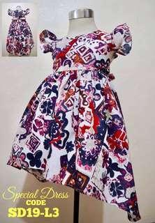 Girls Dress SD19-L3
