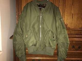 Topshop bomber jacket (size 4)