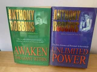 Awaken the Giant Within: How to Take Immediate Control of Your Mental, Emotional, Physical and Financial Life & Unlimited Power: The New Science of Personal Achievement by Anthony Robbins