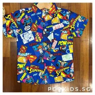 🚚 1-10yo Superman Shirt
