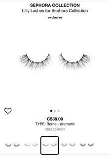 NEW LILLY LASHES MINK IN 'ROME'