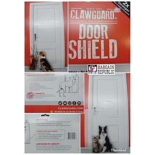 CLAWGUARD Heavy Duty Door Shield by Ultimate Door and Door Frame Scratch Protector