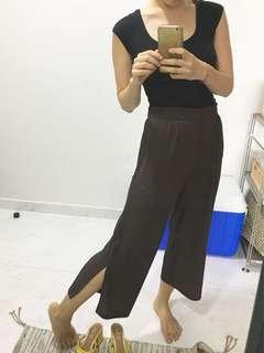brown slacks