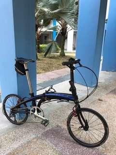 Upgraded Tern Verge N8 Foldable Bike