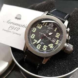 Tauchmeister 500m 德國古銅軍錶 - T0274 (24小時古銅軍錶)