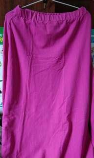 Rok Panjang pink