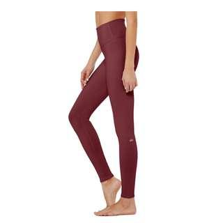 Alo Yoga High Waist Dash Legging - Black Cherry
