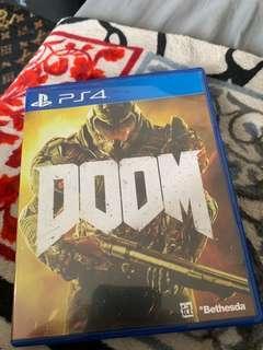 Kaset PS4 Doom The best action Horror FPS