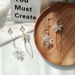 [ Handmade ] Angelic earrings