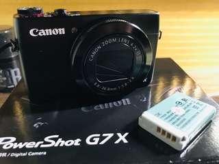 🚚 Canon PowerShot G7X接近新品