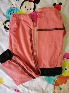 2 pcs Pants Set