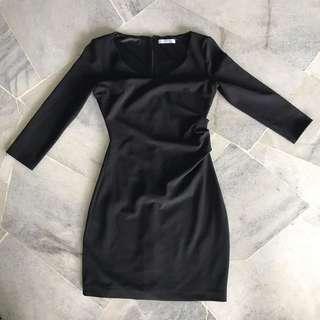 MNG Black Bodycon Dress