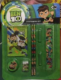 BEN 10 stationery set