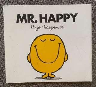 🚚 Mr Men Books Mr Happy