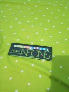 La Girl Neons Palette #dibuangsayang