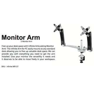 MONITOR ARMS - DUAL - Imac Head