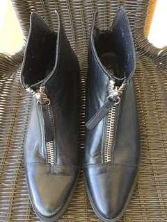 Zara Woman Leather