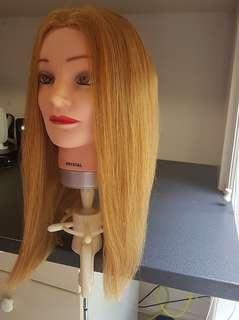 Dateline Classic Mannequin - 100% Human Hair (With Attachments & Box)