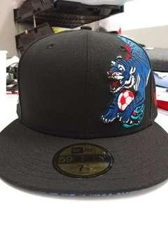 "Caps New New Era Pepsi NY 7.5"" tiger flat"