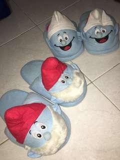 Sandal Rumah Smurfs