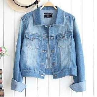 Jacket Jeans Washed