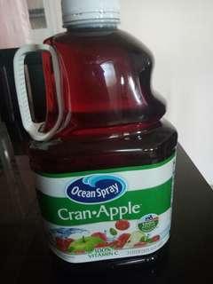 Cran apple juice