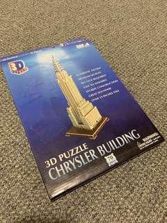 🚚 紐約帶回 克萊斯勒大廈 3D 立體拚圖 70片