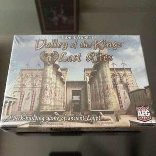 Valley of The Kings Last Rites Board Game