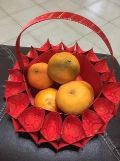 Handmade CNY basket