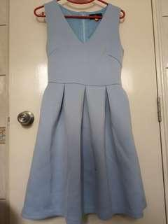 Doublewoot Neoprene Pastel Blue dress
