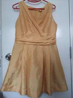 Cultivation Gold Dress