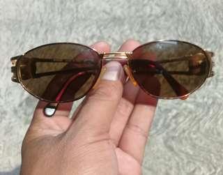 Fendi Orologi Sunglasses Round Italy AUTHENTIC Luxury Ladies